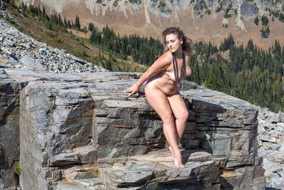 Stella Velvet on the Huckleberry Creek Trail